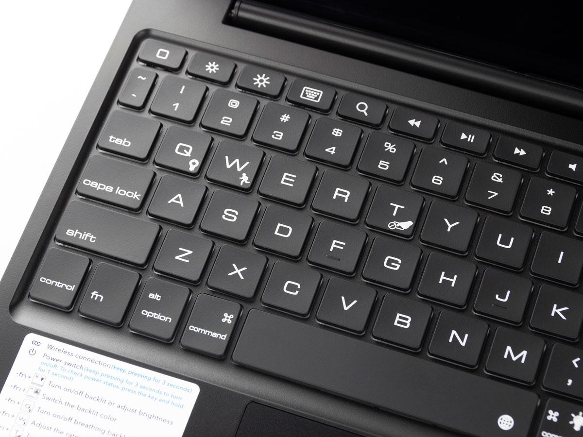 Toetsenbord Case met Muis Trackpad Zilver - iPad Air 4 (2020) Hoesje