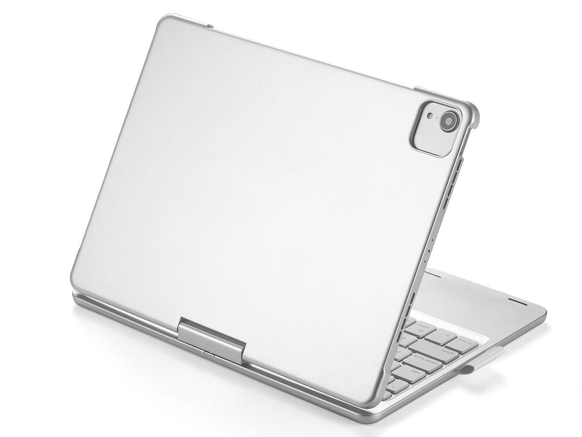 Toetsenbord Case 360 met Muis Trackpad Zilver - iPad Pro 11 Hoesje