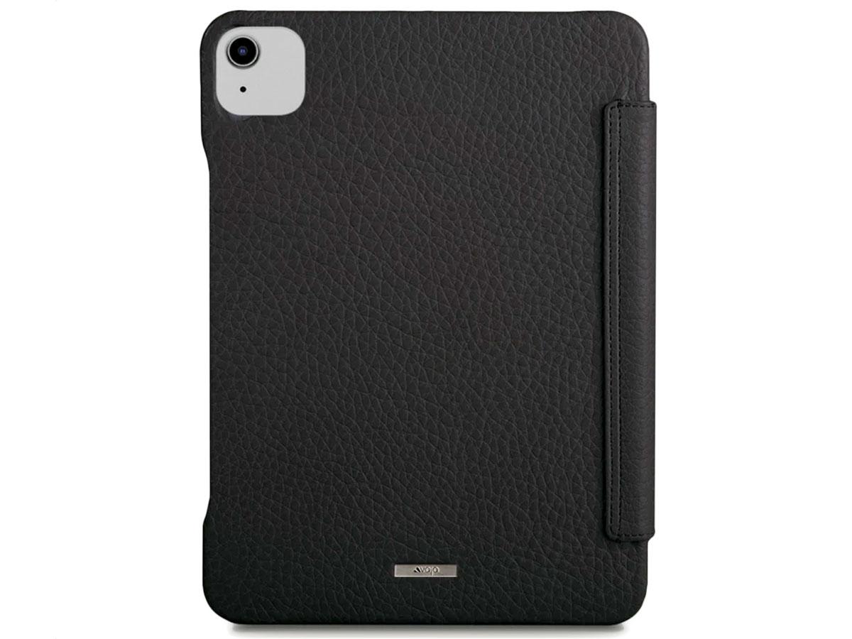 Vaja Libretto Leather Case Zwart - iPad Air 4 2020 Hoesje Leer