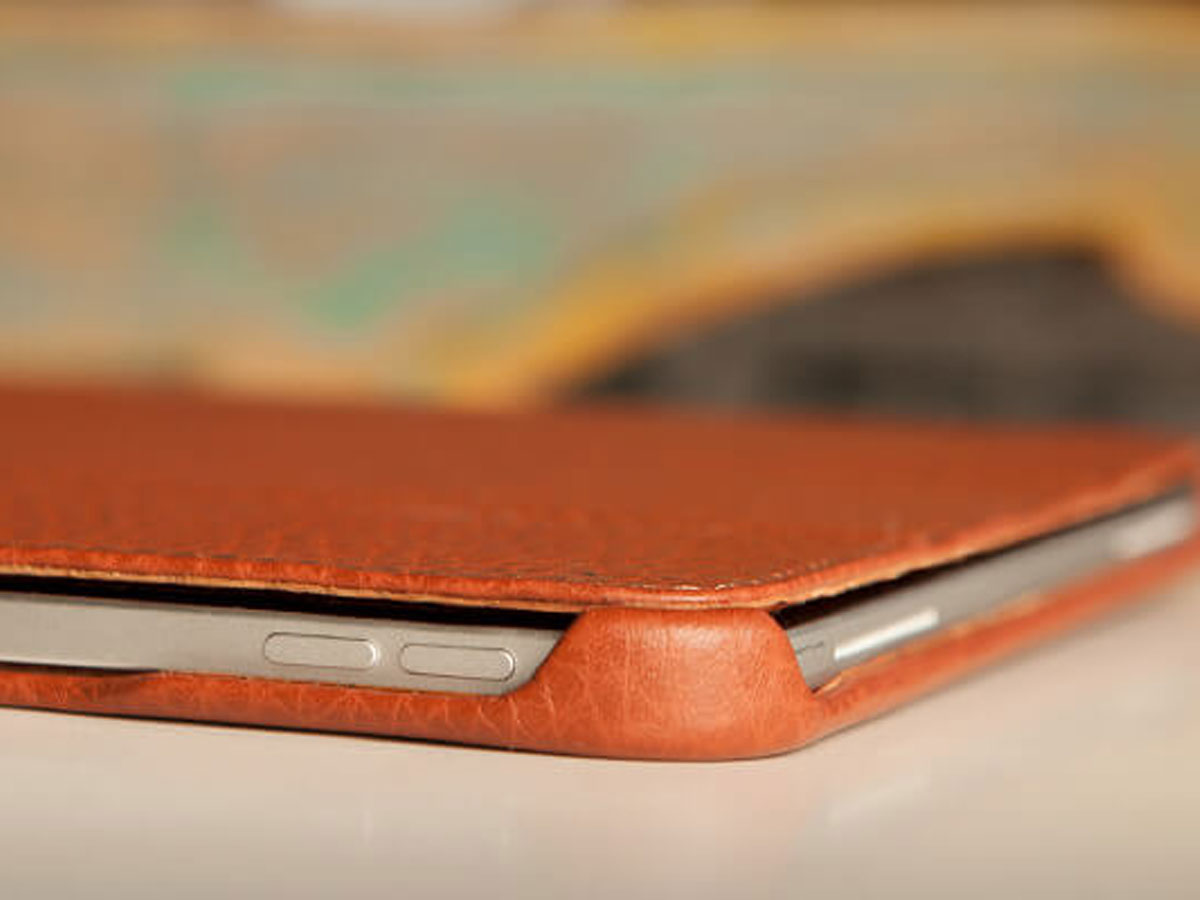 Vaja Libretto Leather Case Cognac - iPad Air 4 2020 Hoesje Leer