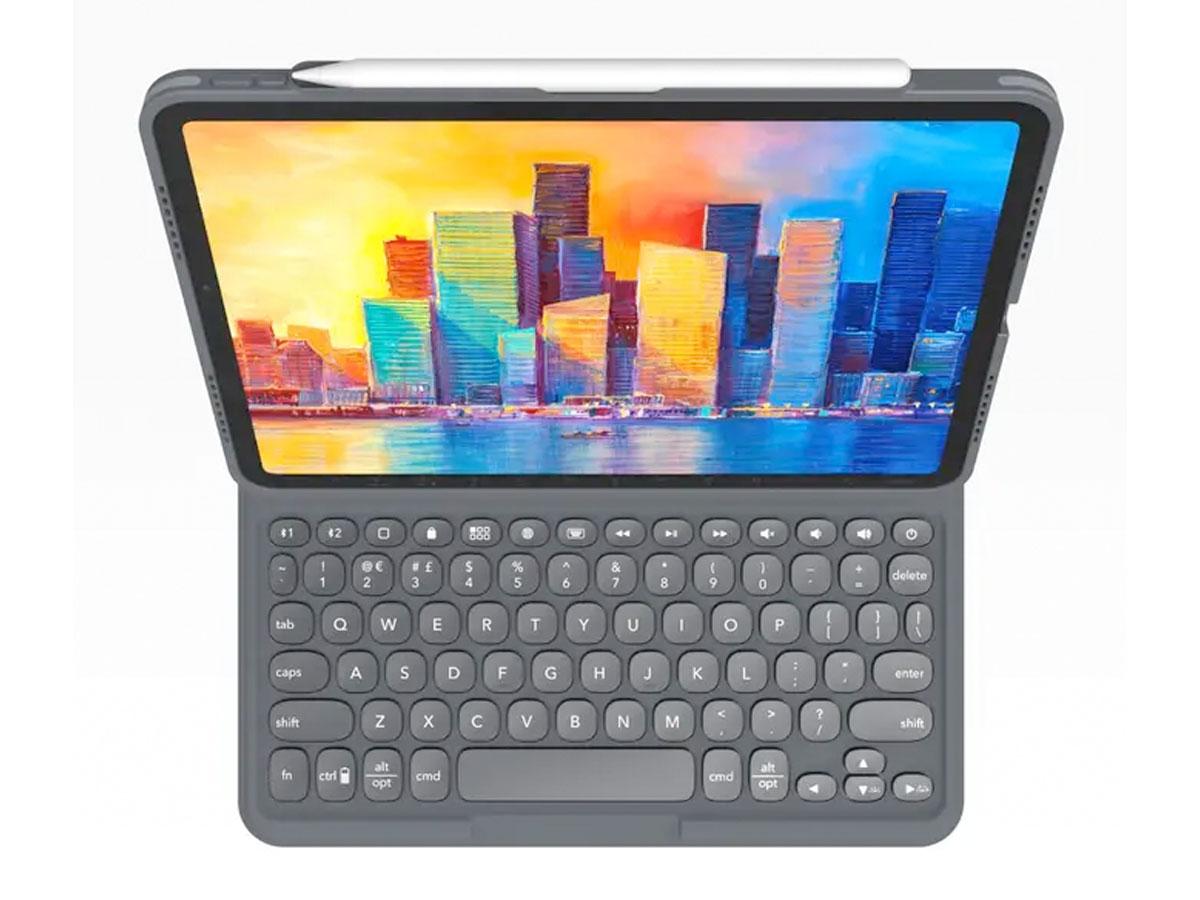 ZAGG Pro Keys Toetsenbord Case AZERTY - iPad Air 4 (2020) hoesje