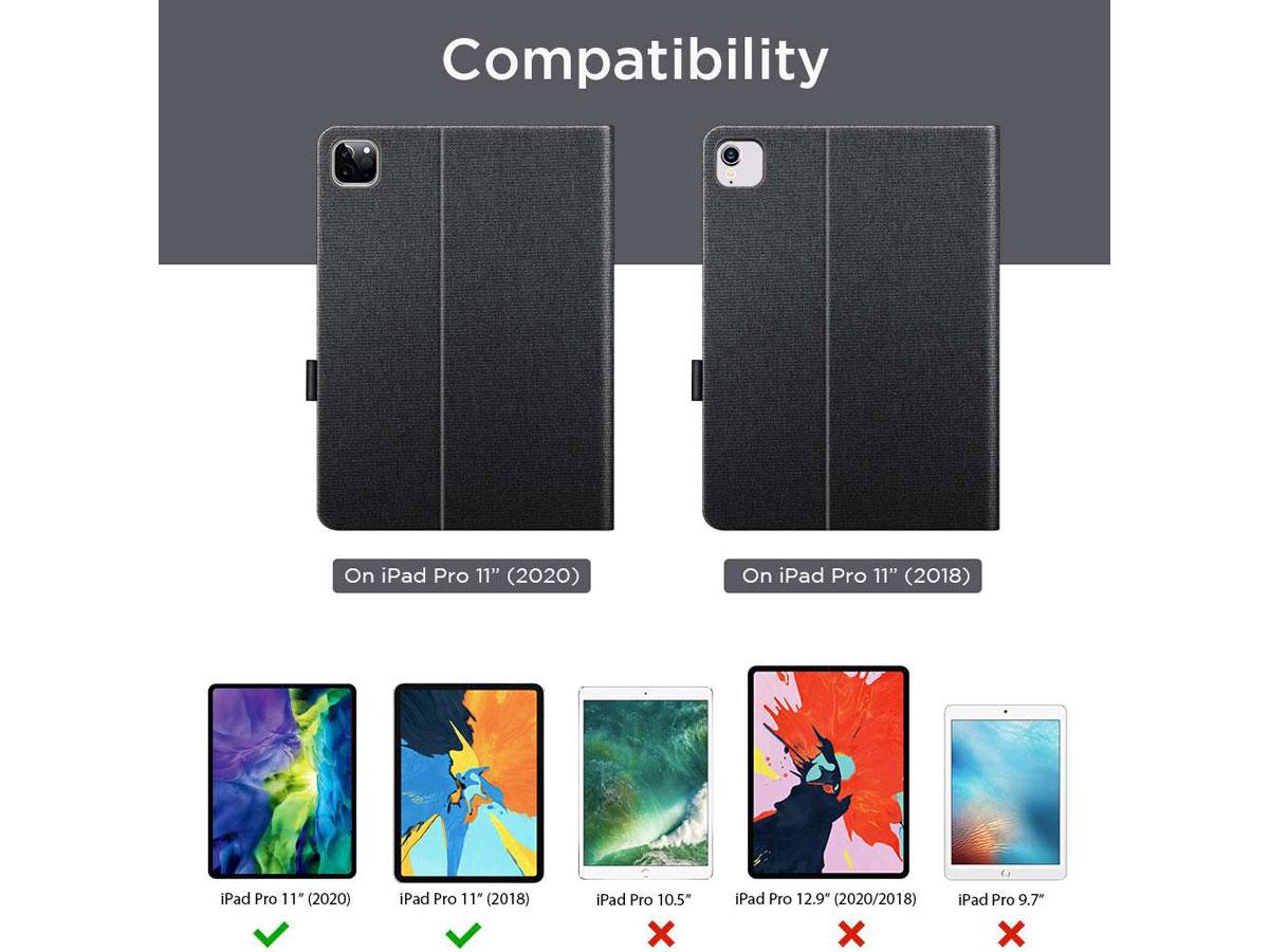 ESR Simplicity Case Zwart - iPad Pro 11 hoesje