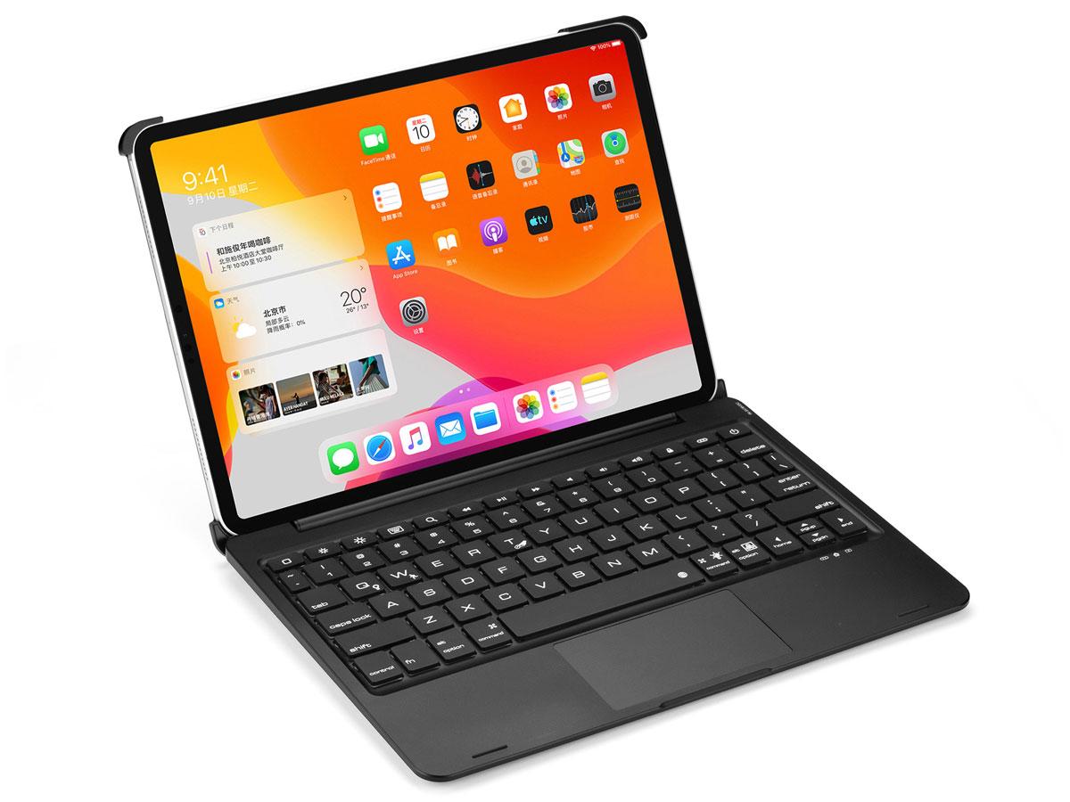 Toetsenbord Case met Muis Trackpad Zwart - iPad Pro 11 Hoesje