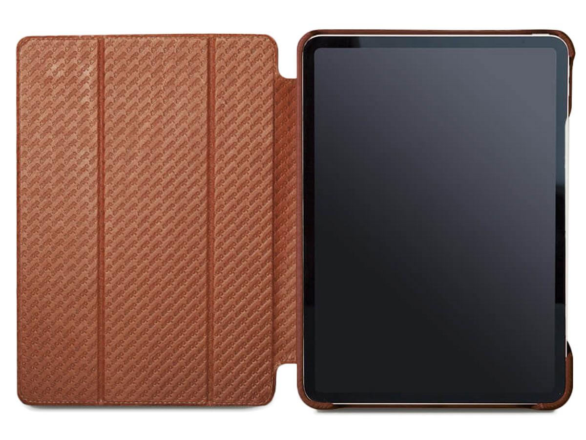 Vaja Libretto Leather Case Cognac - iPad Pro 11 Hoesje Leer