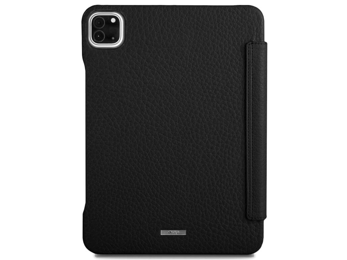 Vaja Libretto Leather Case Zwart - iPad Pro 11 2020 Hoesje Leer