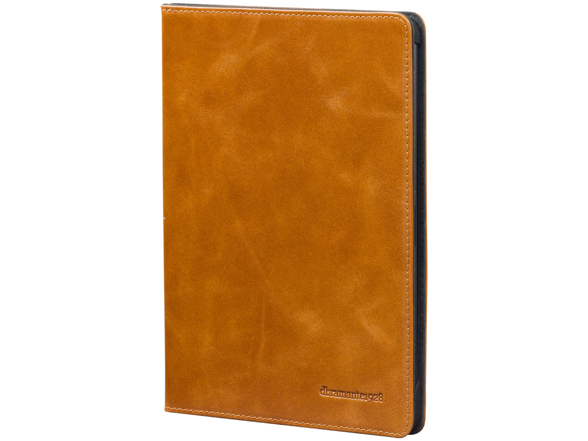 dbramante1928 Copenhagen Tan Leer - iPad Pro 12.9 2020 Hoesje