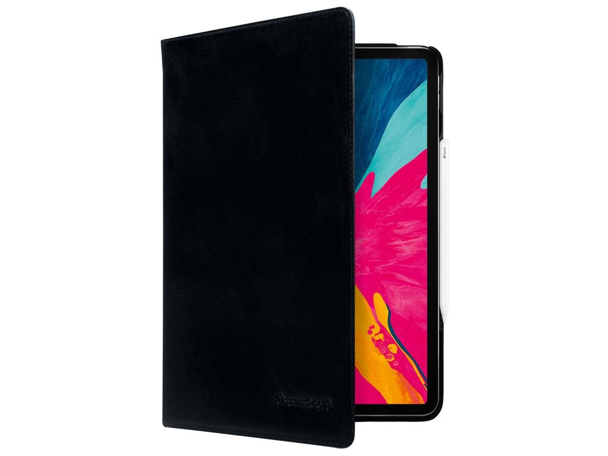 dbramante1928 Copenhagen Zwart Leer - iPad Pro 12.9 2020 Hoesje