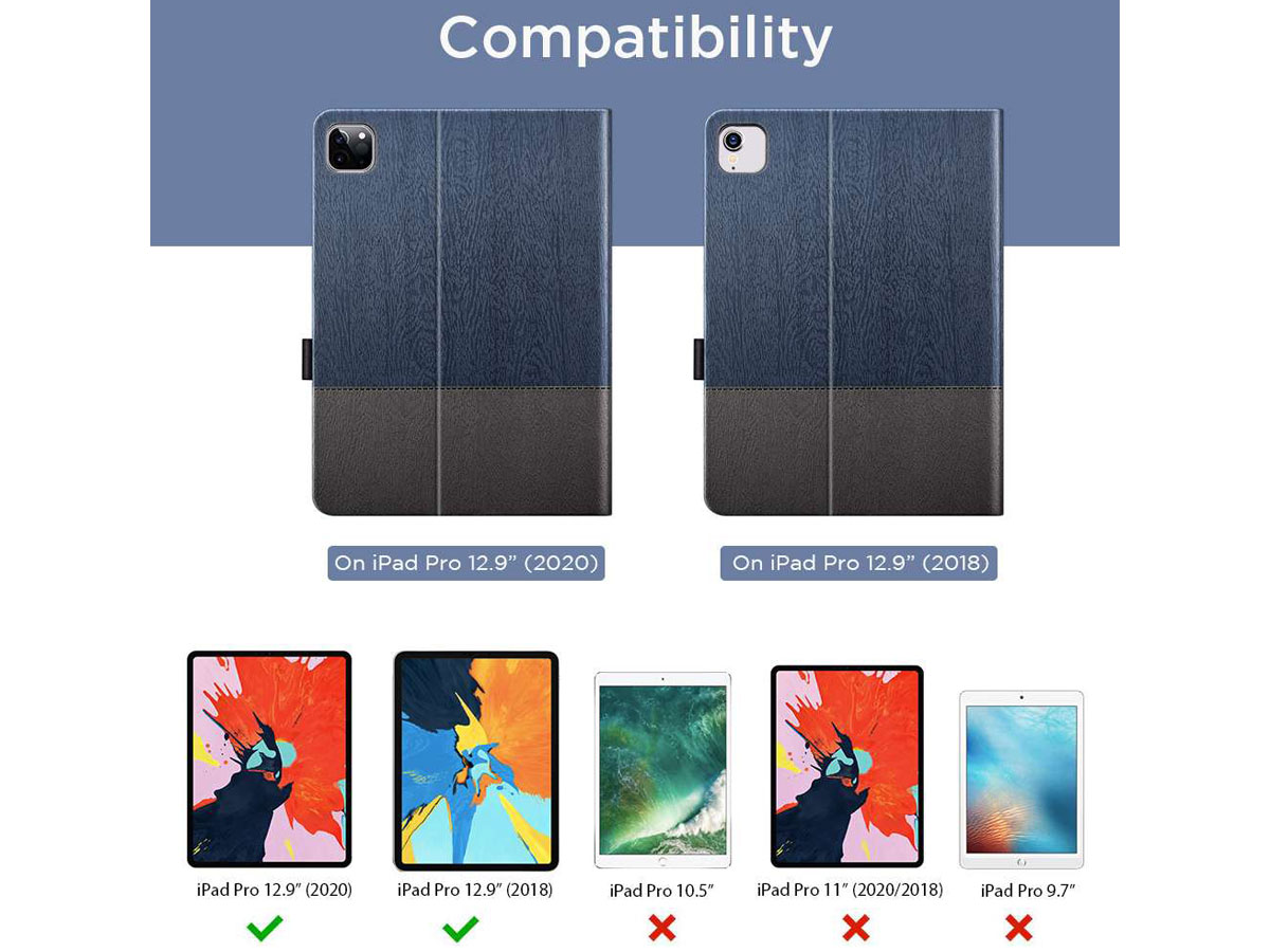 ESR Simplicity Case Knight - iPad Pro 12.9 2018/2020 hoesje