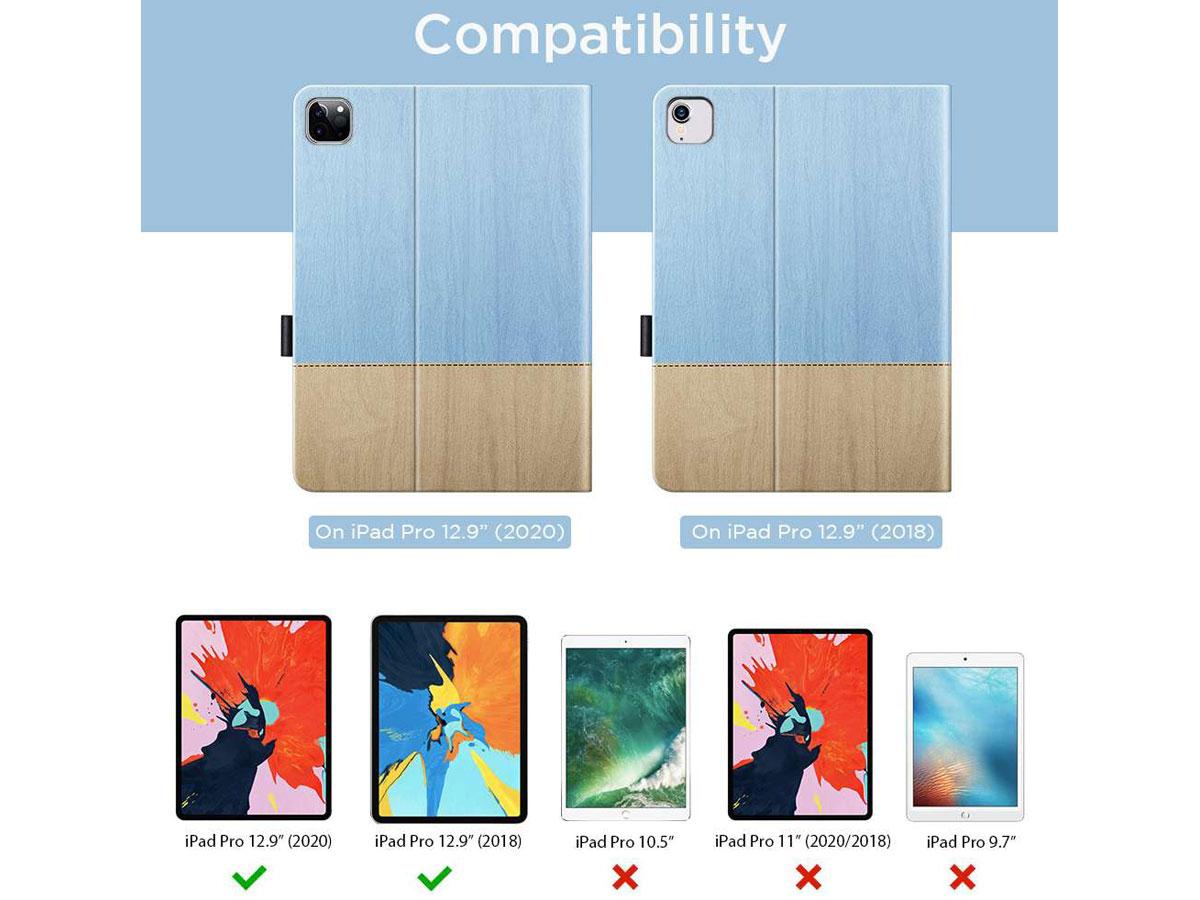 ESR Simplicity Case Sky - iPad Pro 12.9 2018/2020 hoesje