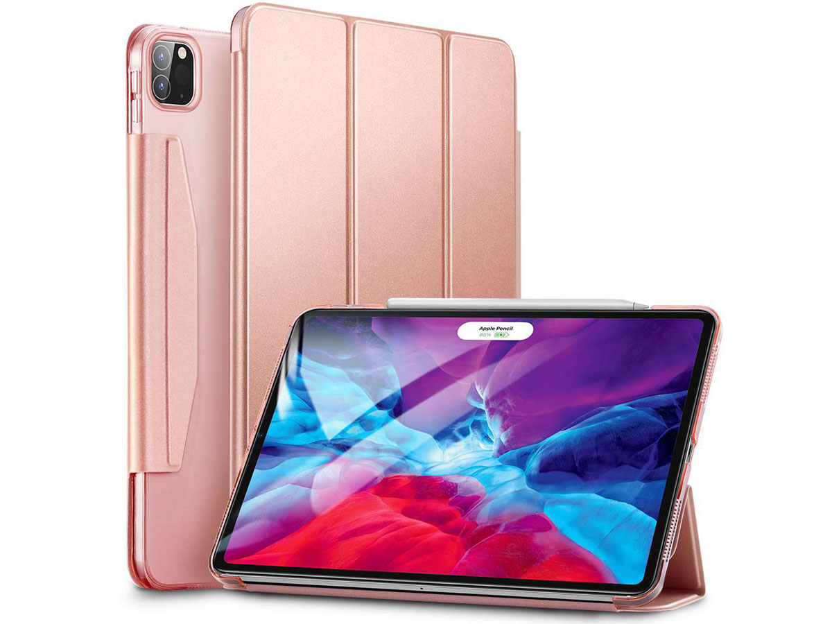 ESR Yippee Color Case Rose - iPad Pro 12.9 2018/2020 hoesje Rose goud