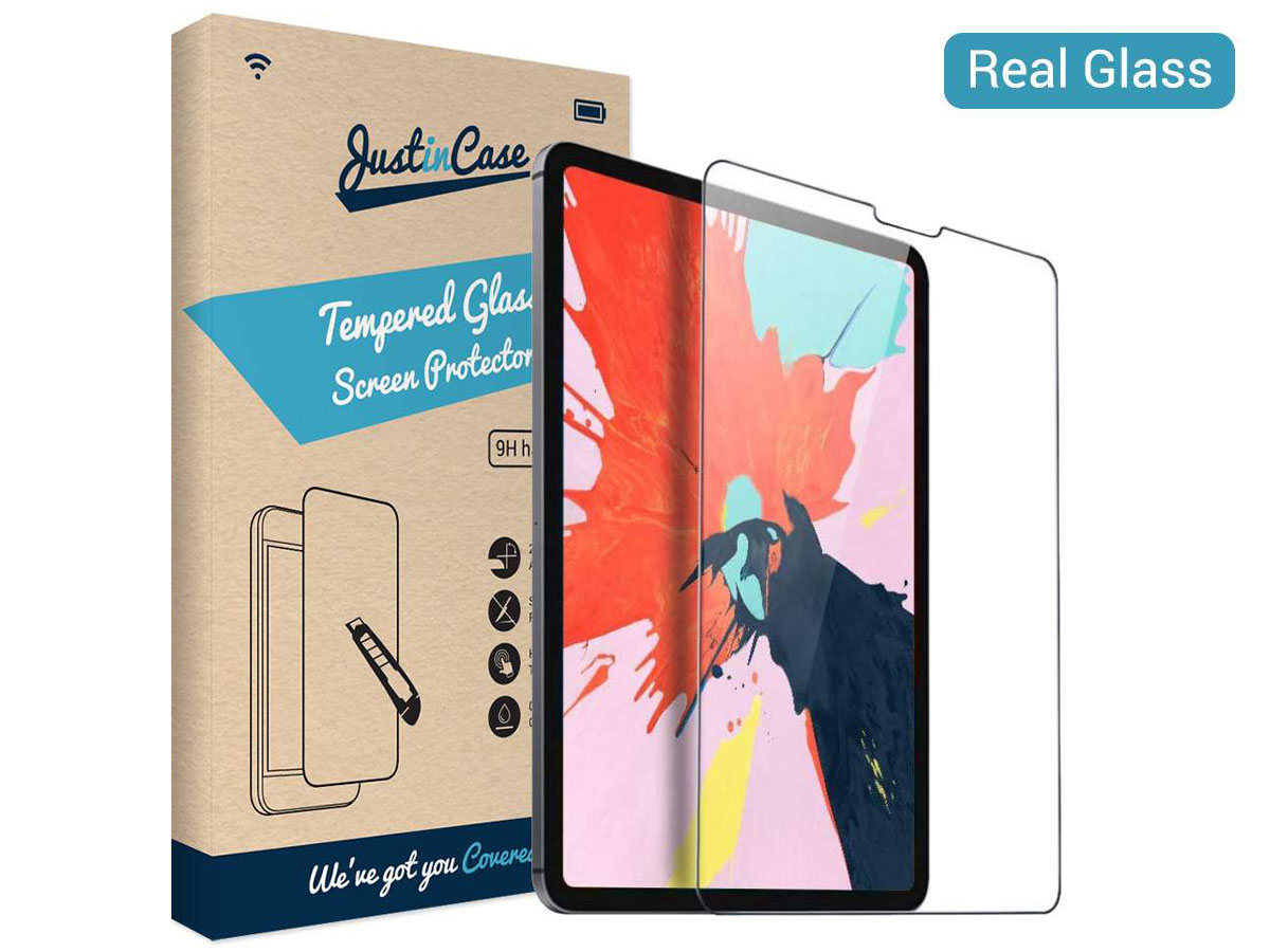 Just in Case iPad Pro 12.9 Screen Protector Tempered Glass 9H