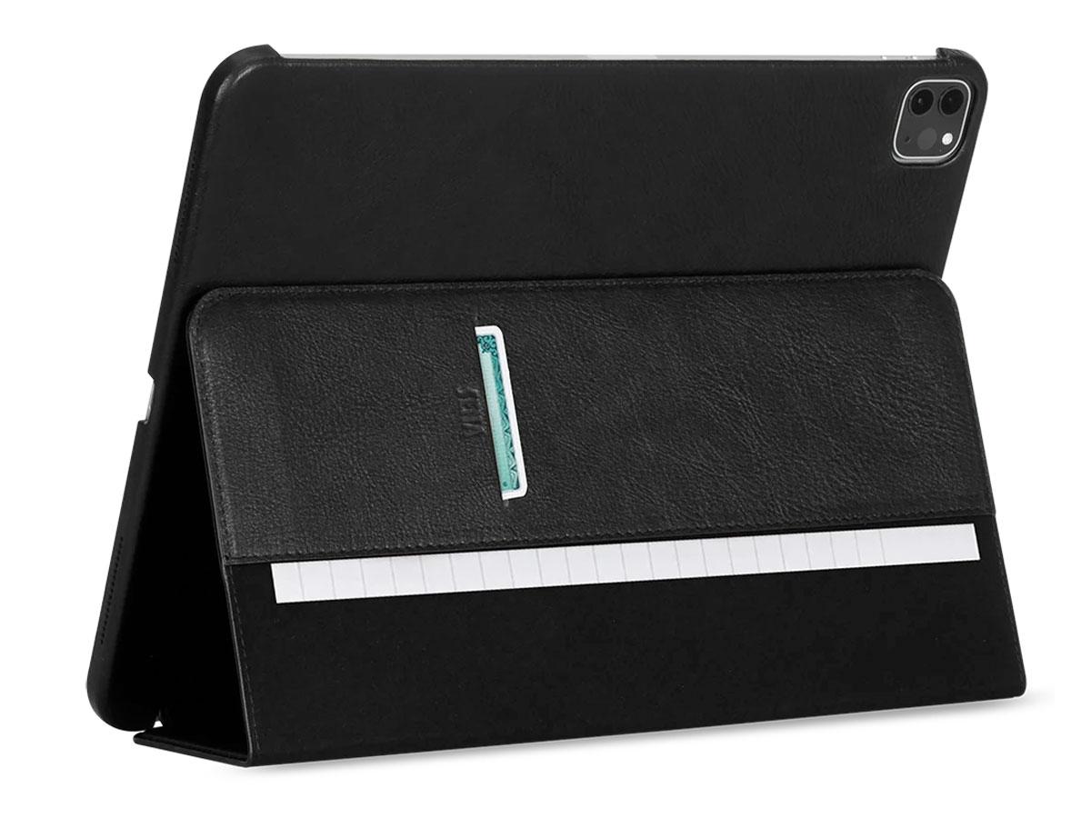 Sena Future Folio Zwart - Leren iPad Pro 12.9 2020 hoesje