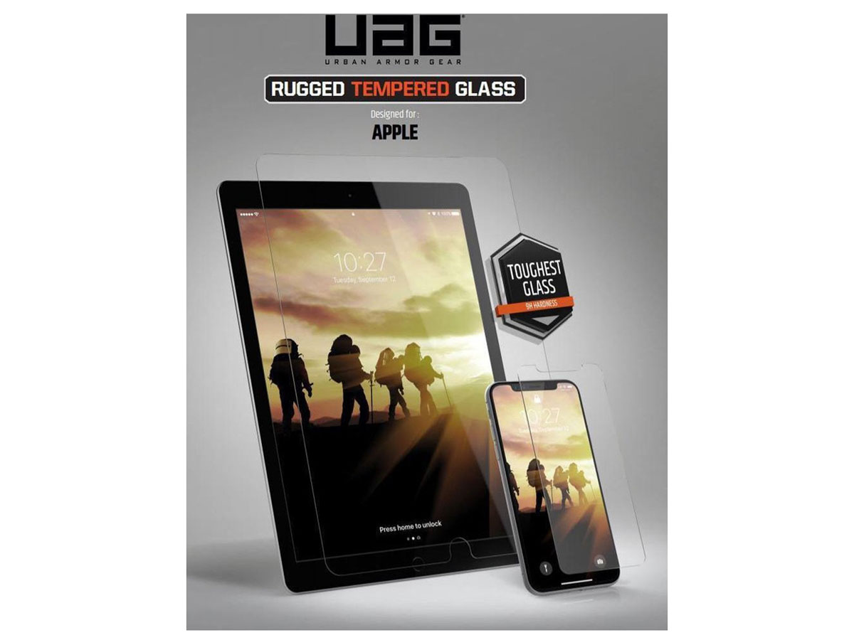 Urban Armor Gear Rugged Glass - iPad Pro 12.9 2018/2020 Screen Protector