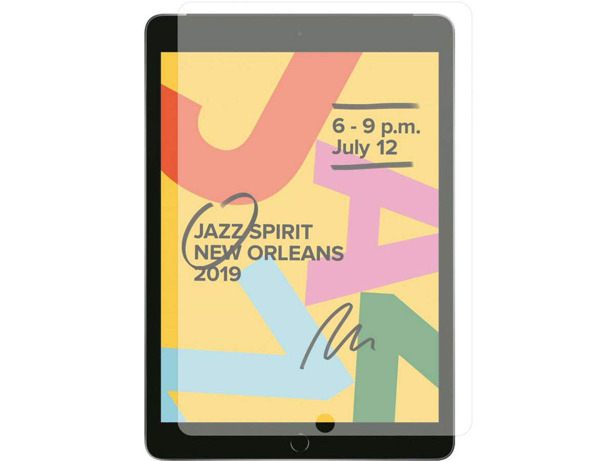 iPad 10.2 (2019/2020) Screen Protector Glas Tempered Glass