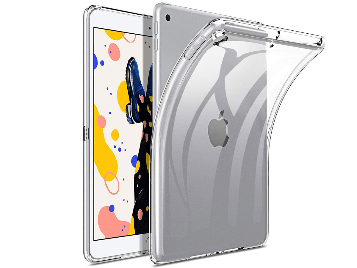 Crystal Clear TPU Case - Doorzichtig iPad 10.2 (2019/2020) Hoesje Transparant