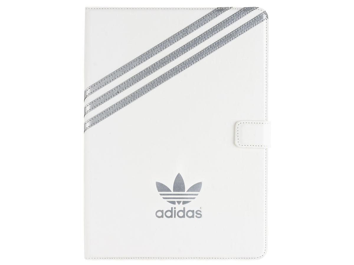 adidas Case Wit/Zilver - iPad 2018/2017/Air 1 hoesje