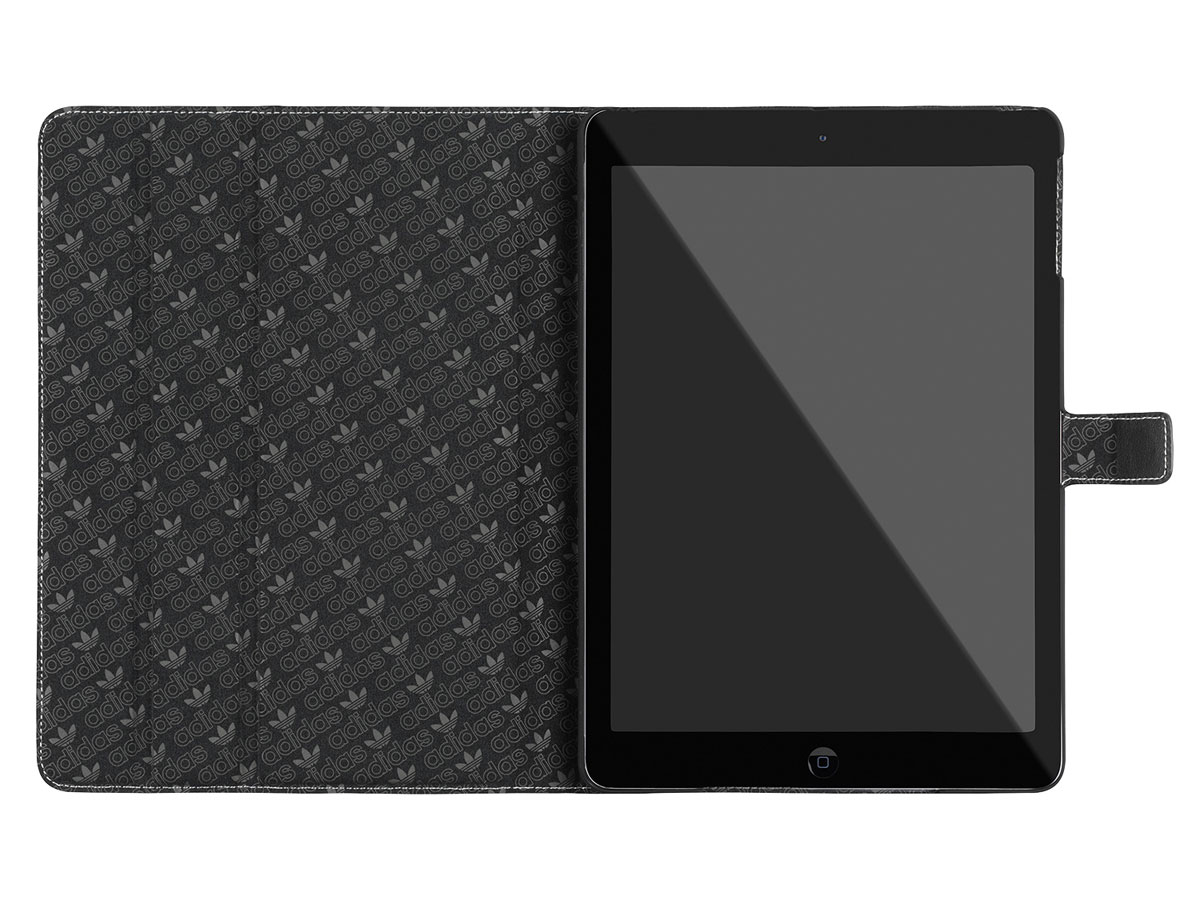 adidas Case Zwart/Wit - iPad 2018/2017/Air 1 hoesje