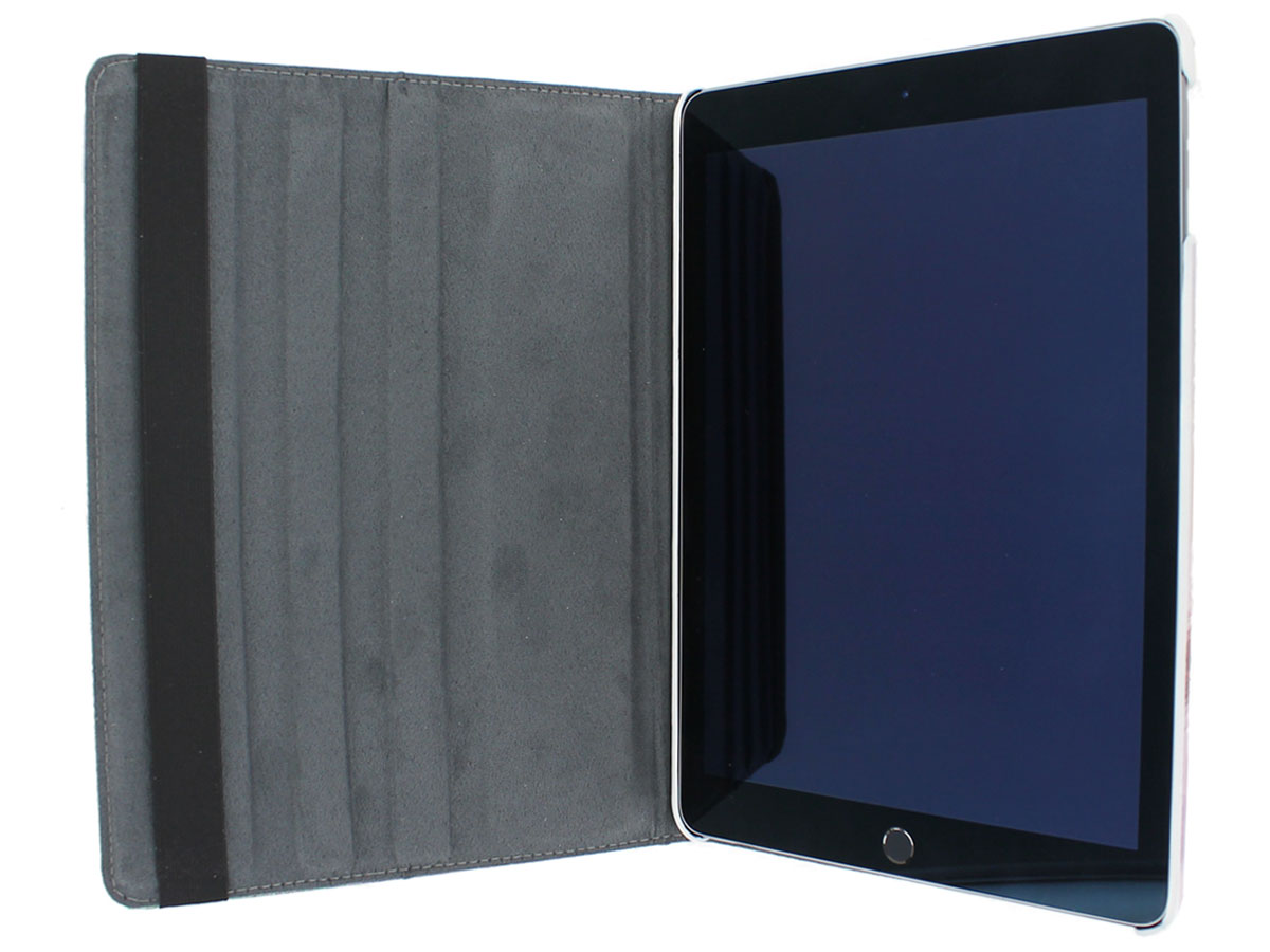 poezen 360 stand case ipad 2018 2017 hoesje. Black Bedroom Furniture Sets. Home Design Ideas