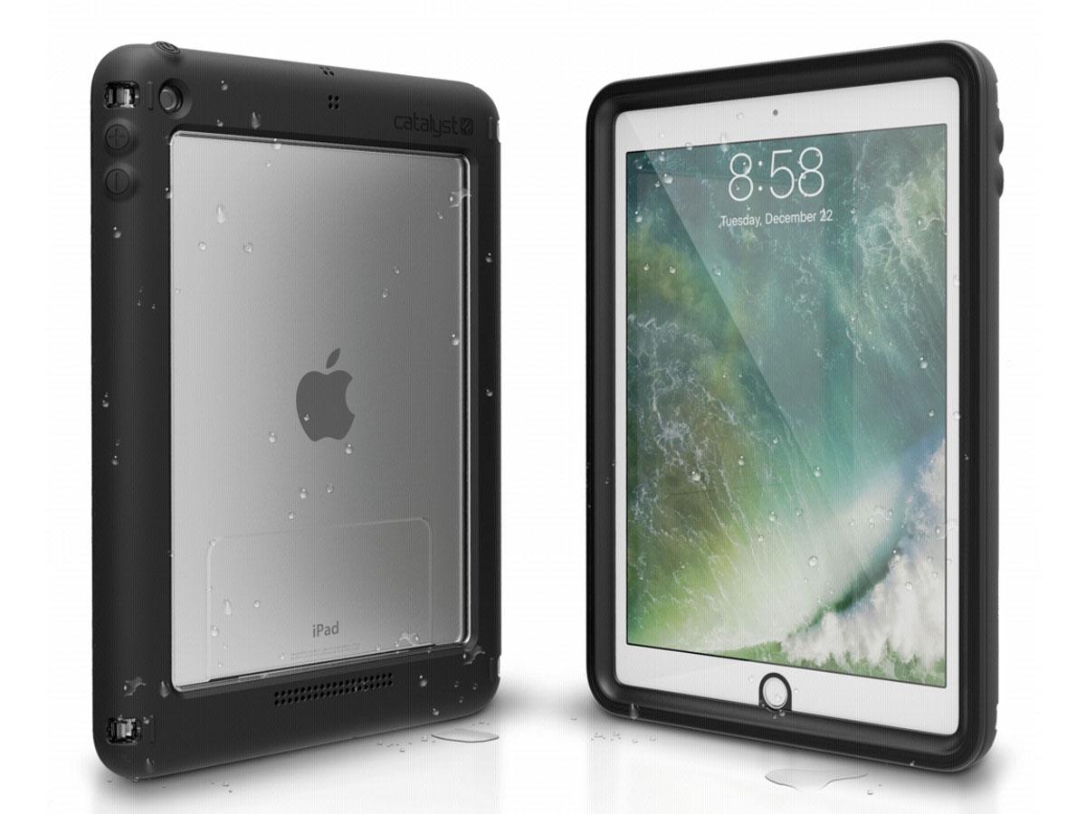 Catalyst Case Waterdicht - iPad 9.7 (2018 / 2017) hoesje Zwart