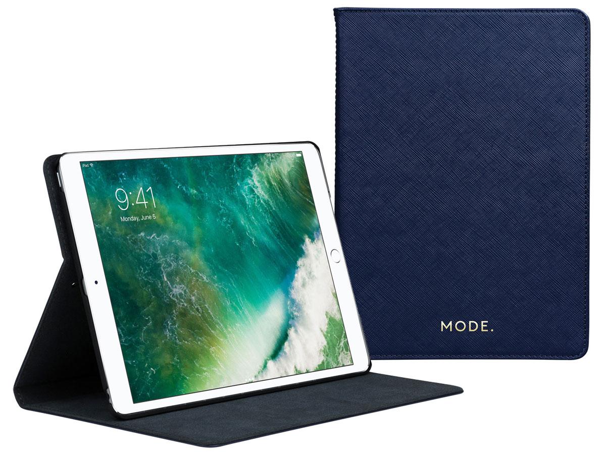 dbramante1928 Tokyo Evening Blue - iPad 9.7 2018/2017 Hoesje Donkerblauw