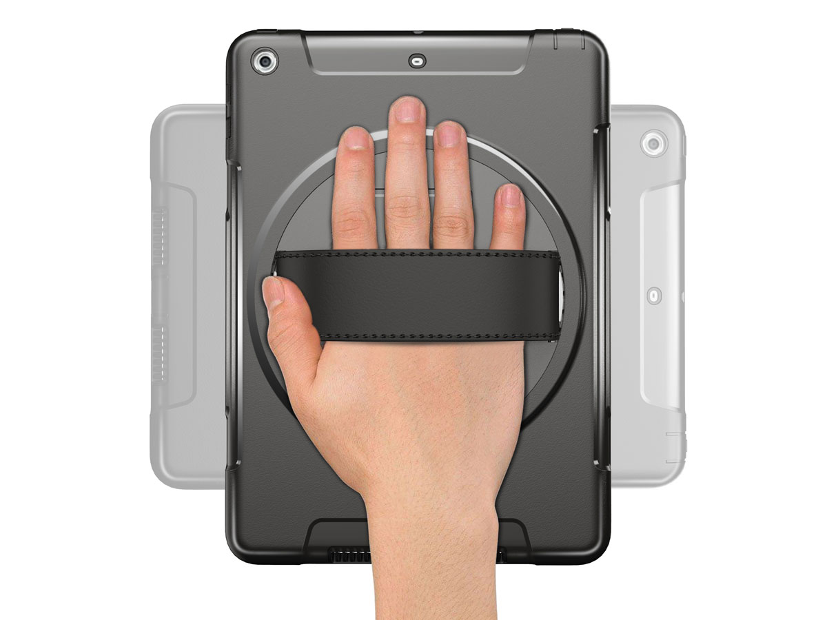 Airstrap Handvat Case - Rugged iPad 9.7 (2018/2017) Hoesje