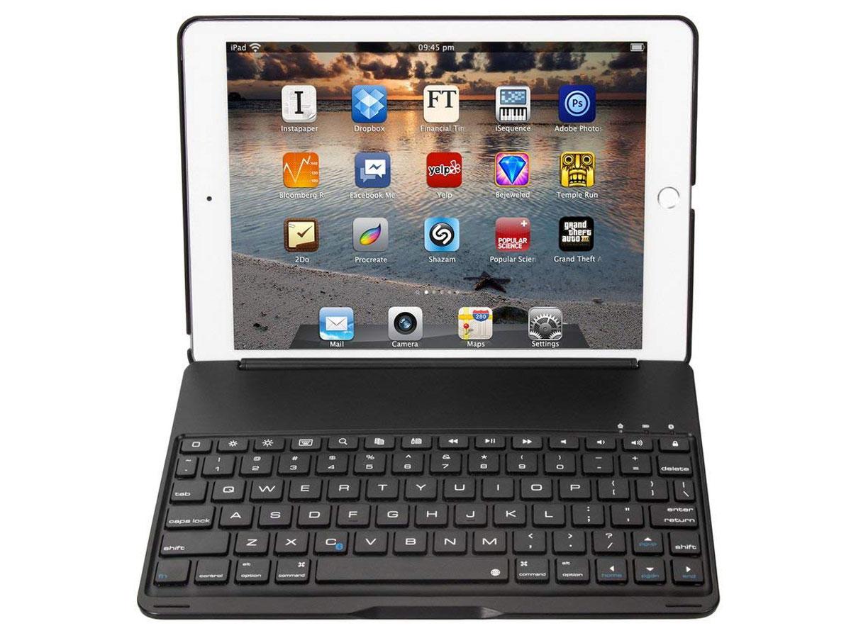iPad Air 2 Pro 9.7 Toetsenbord Hoes Keyboard Case Zwart