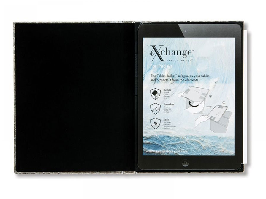 eXchange Black Moroccan Case - Luxe iPad Air 2 hoesje
