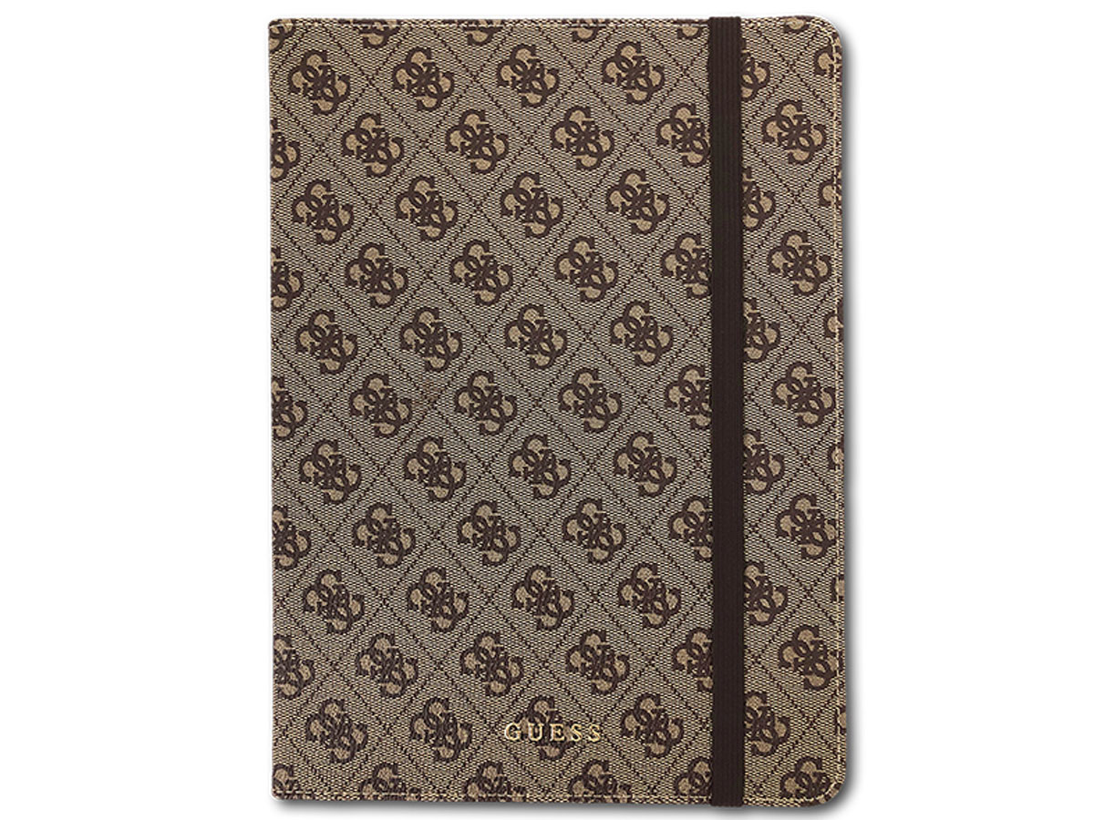 Guess 4G Monogram Case Bruin - iPad Air 3 (2019) Hoes