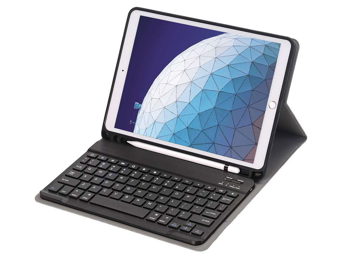 Keyboard Case AZERTY - iPad Air 3 2019 Toetsenbord Hoesje (Pencil)