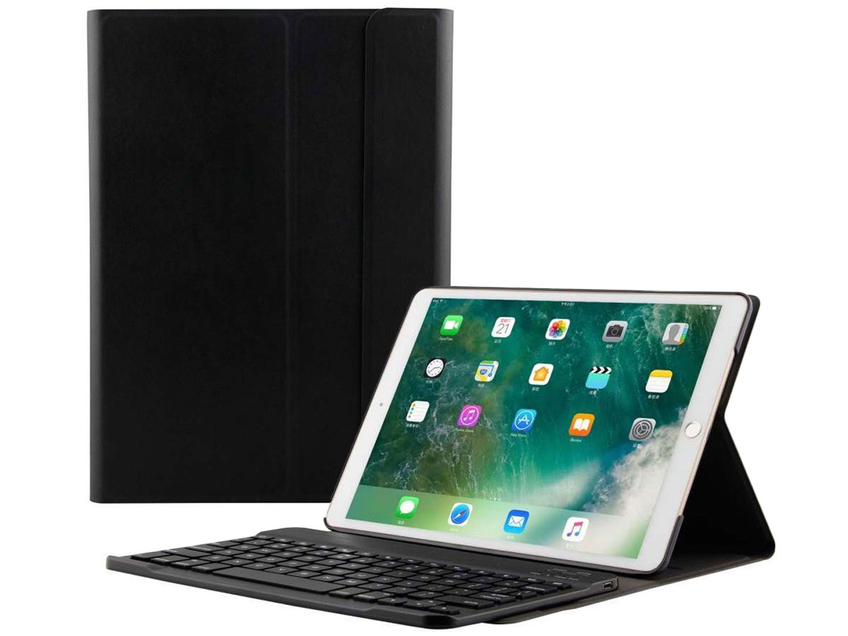 Keyboard Case AZERTY - iPad Air 3 2019 Toetsenbord Hoesje Zwart