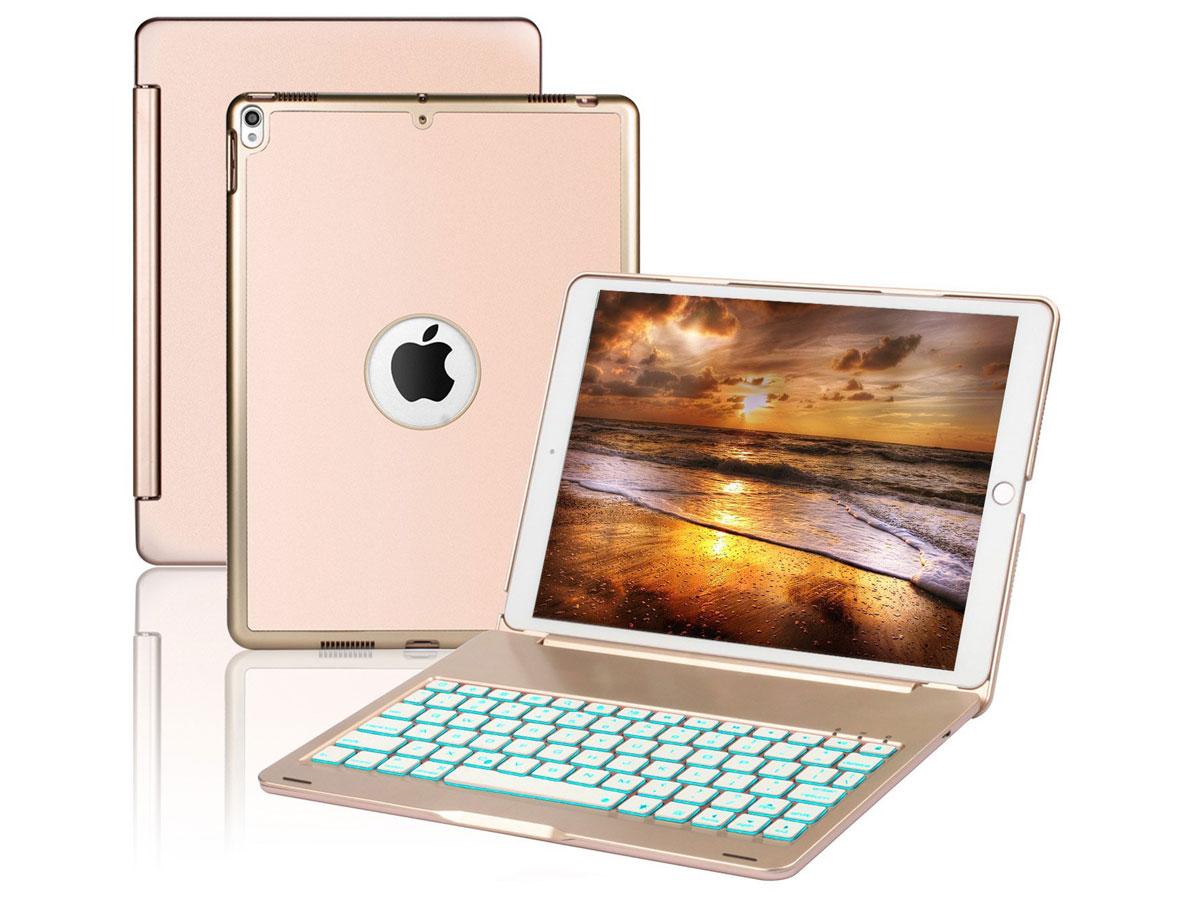 Bluetooth Toetsenbord Case Goud - iPad Air 3 2019 Hoesje