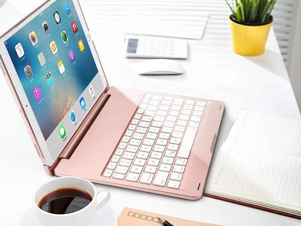 Bluetooth Toetsenbord Case Rosé - iPad Air 3 2019 Hoesje