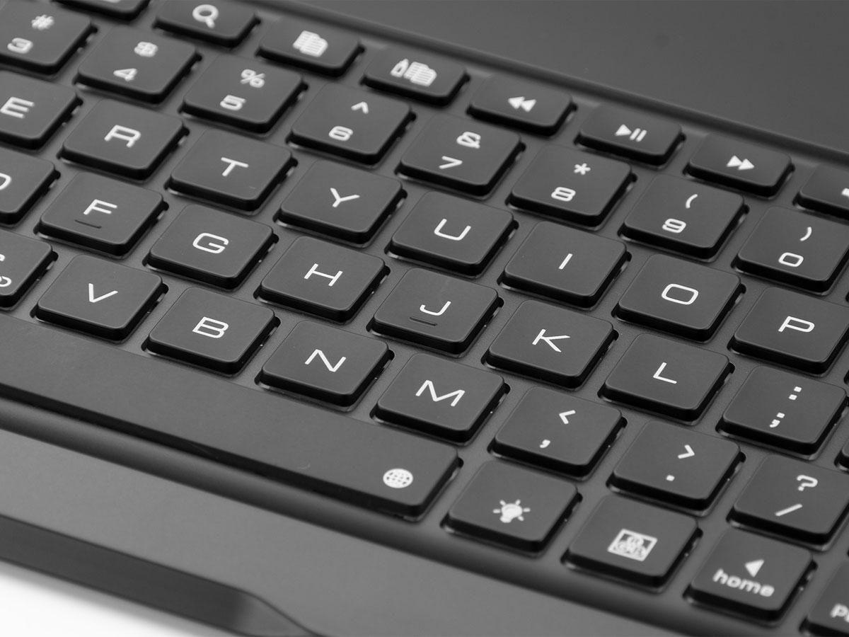 Bluetooth Toetsenbord Case Zilver - iPad Air 3 2019 Hoes