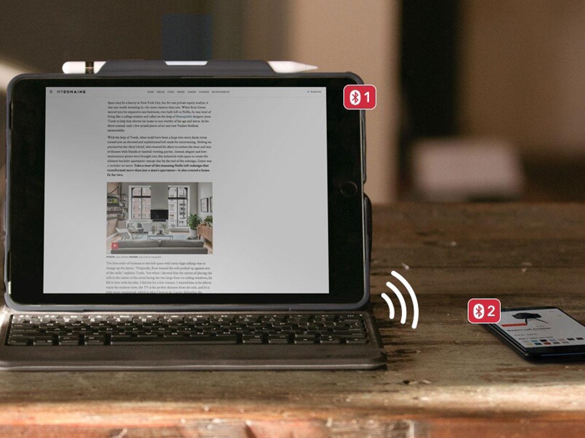 Zagg Rugged Keyboard Case Ipad Air 2019 Hoesje