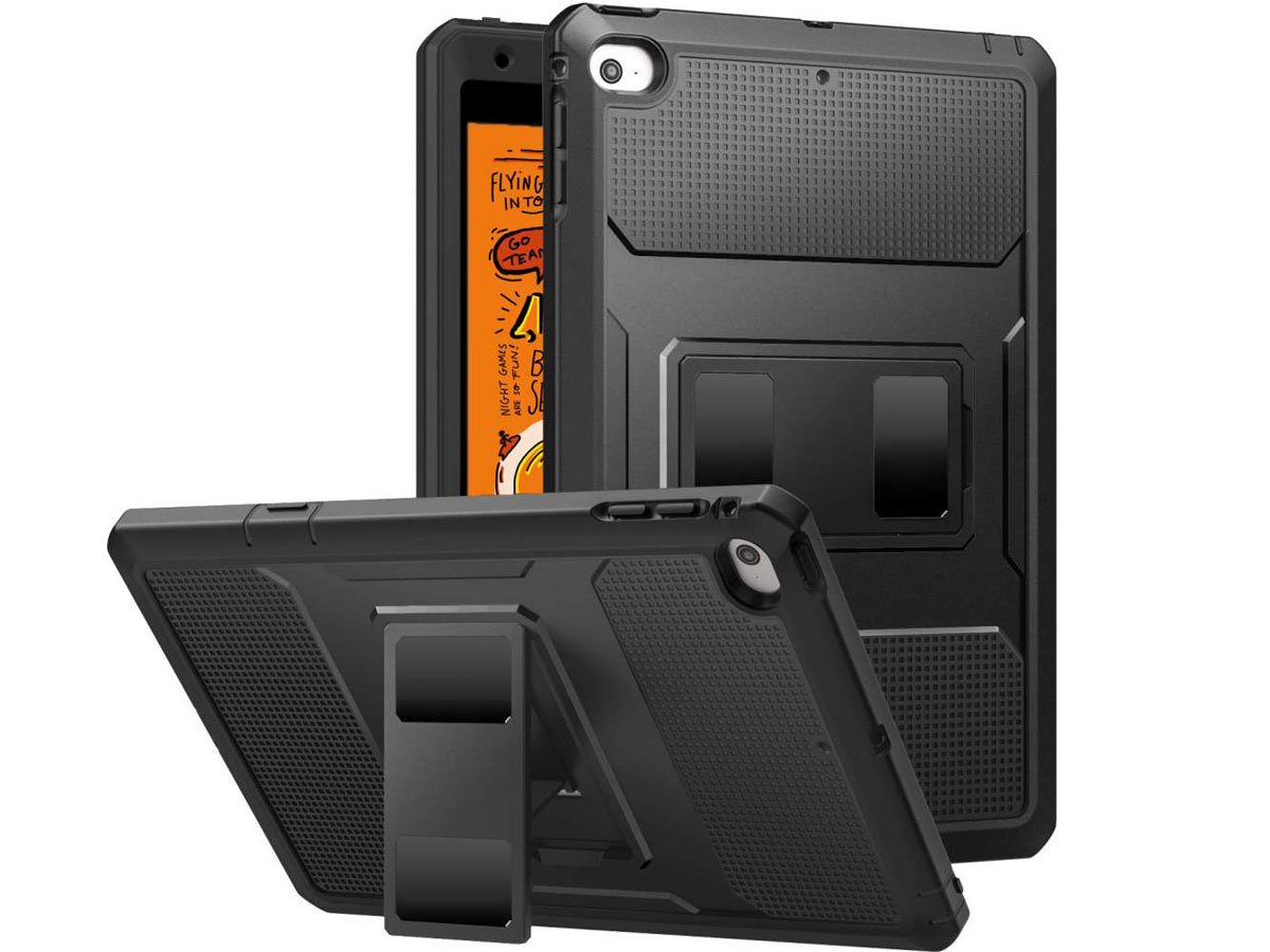 Just in Case Heavy Duty Case - iPad mini 5 (2019) Hoesje Zwart