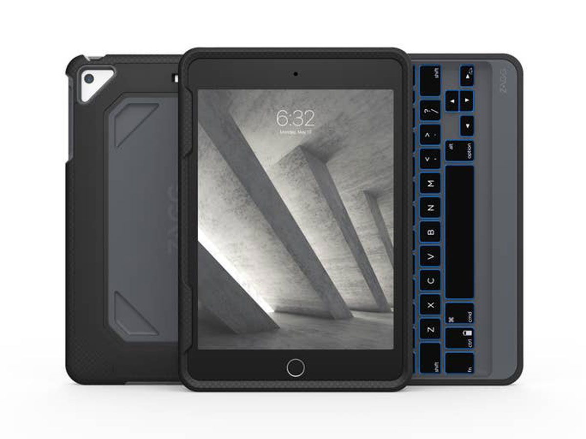 Zagg Rugged Book Keyboard Case Ipad Mini 5 Kopen