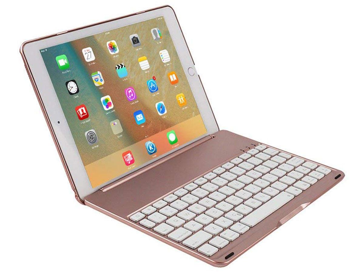Bluetooth Toetsenbord Case Rosé iPad Mini 4 Toetsenbord Hoesje