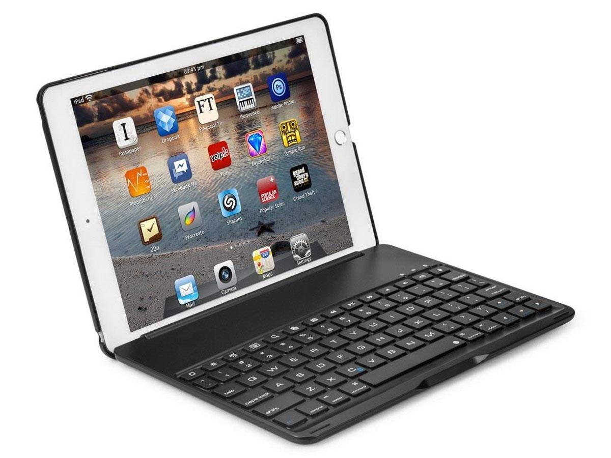 Bluetooth Toetsenbord Case Zwart iPad Mini 4 Toetsenbord Hoesje