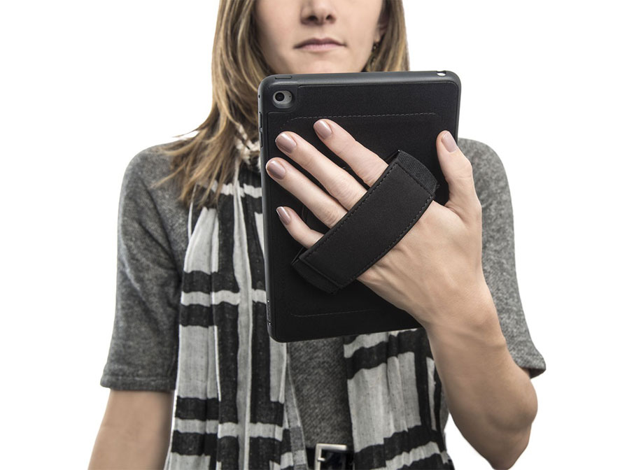 Griffin AirStrap 360 Grip Case - iPad Mini 4 hoesje