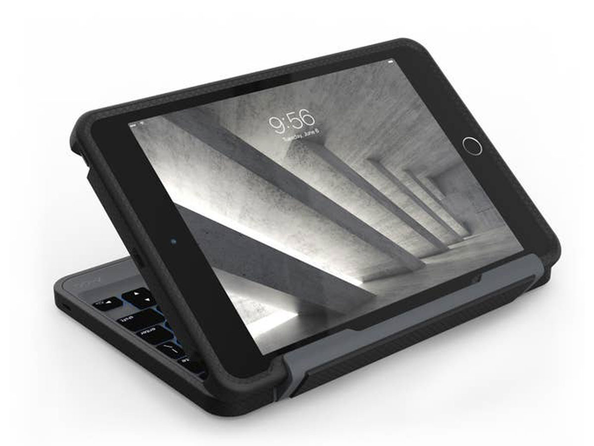 ZAGG Rugged Book Keyboard Case iPad Mini 4 Toetsenbord Hoesje