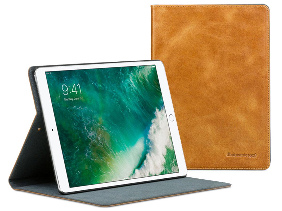 DBramante1928 Copenhagen Tan Leren iPad Pro 10.5 Hoes Cognac