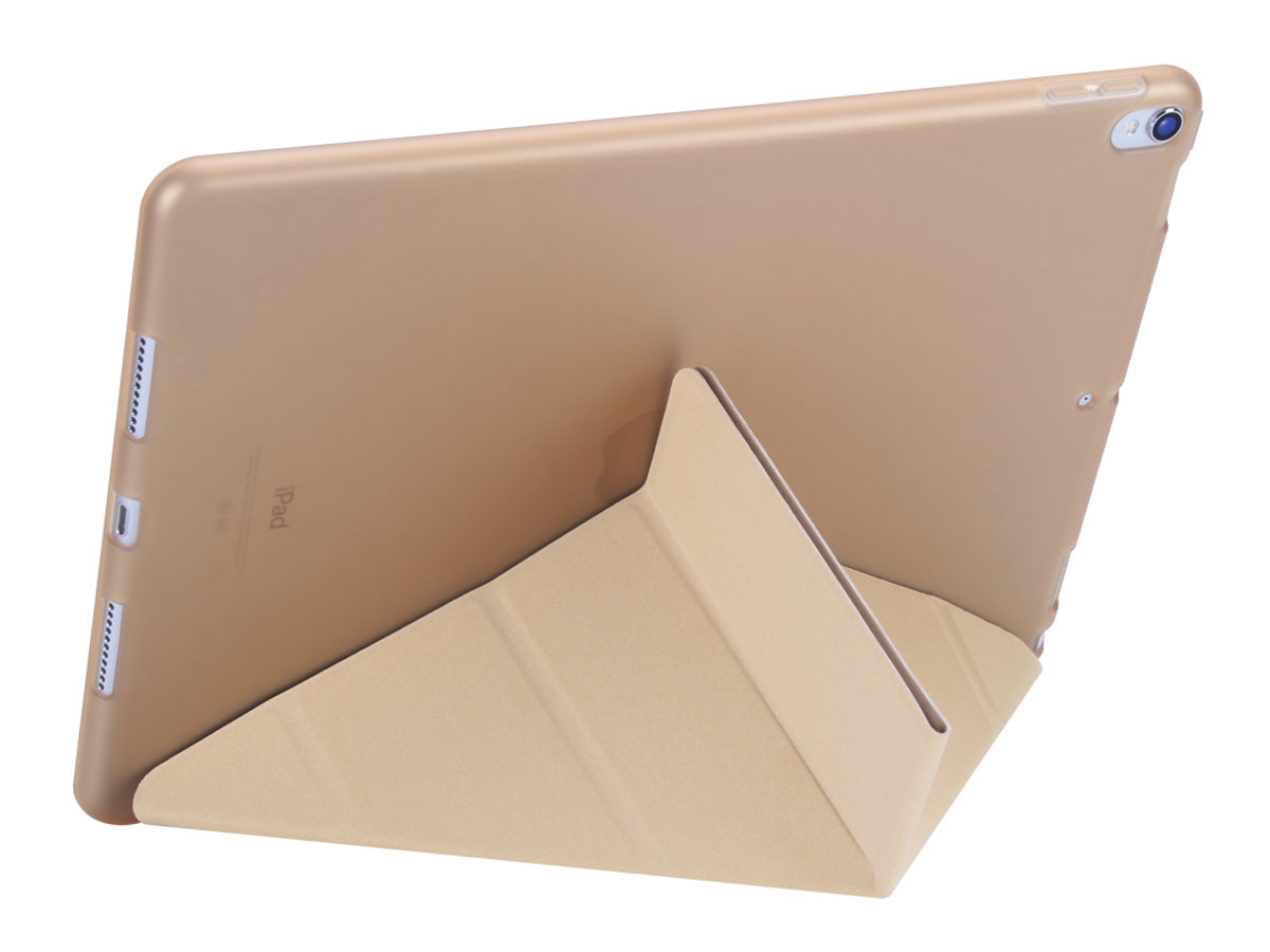 Origami Stand Case - iPad Pro 10.5 Hoesje (Goud)