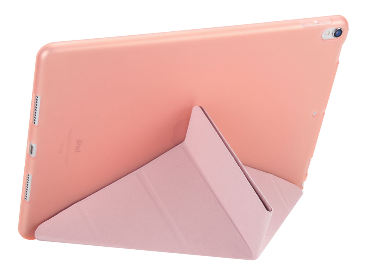 Origami Stand Case - iPad Pro 10.5 Hoesje (Rosé Goud)