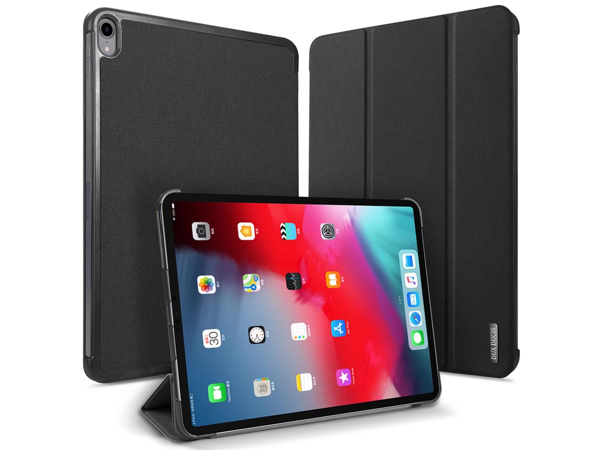 Dux Ducis Trifold Case Zwart - iPad Pro 11 2018 hoesje