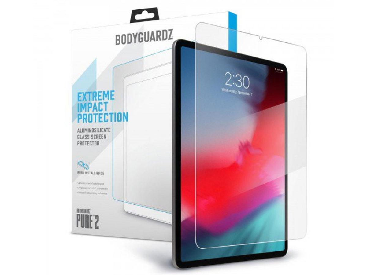 Bodyguardz Pure 2 Glass - iPad Pro 11 Screen Protector Transparant