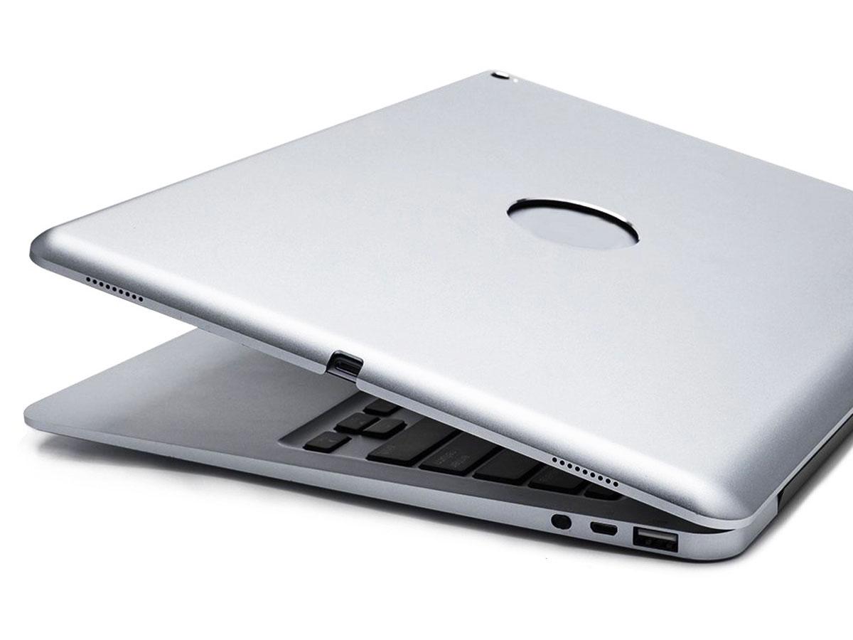 Bluetooth Toetsenbord Case Zilver - iPad Pro 12.9 (2015/2017) Hoesje
