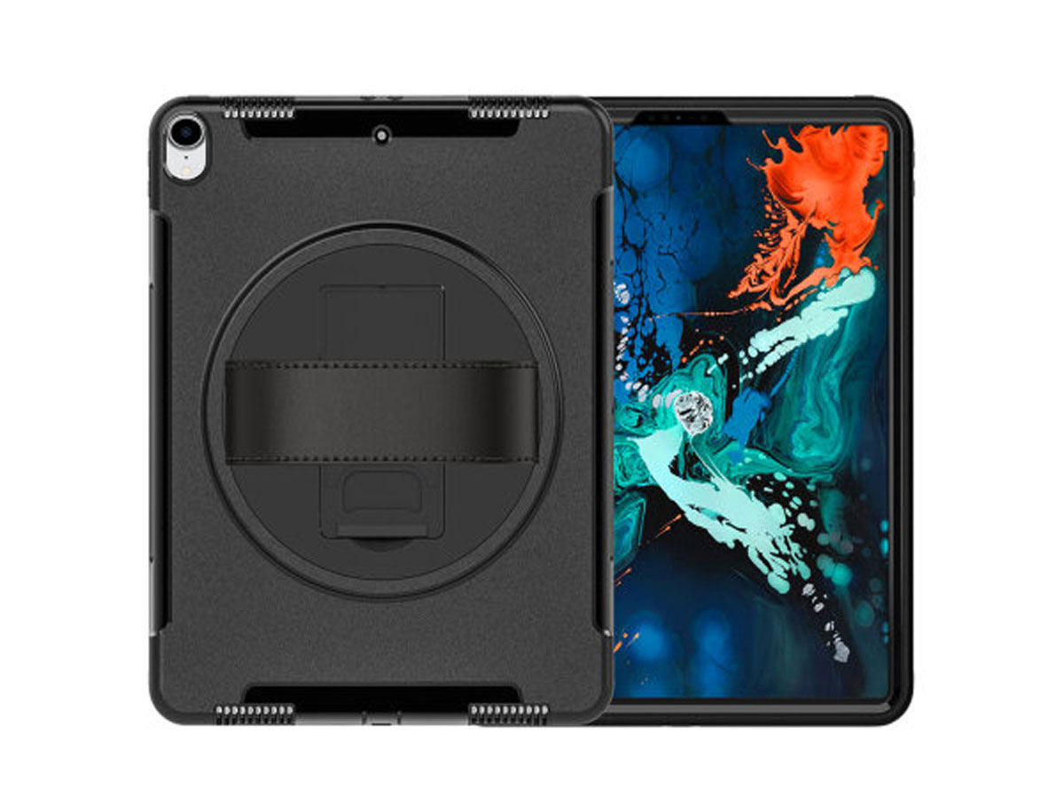 Airstrap Handvat Case - Rugged iPad Pro 12.9 2018 Hoes