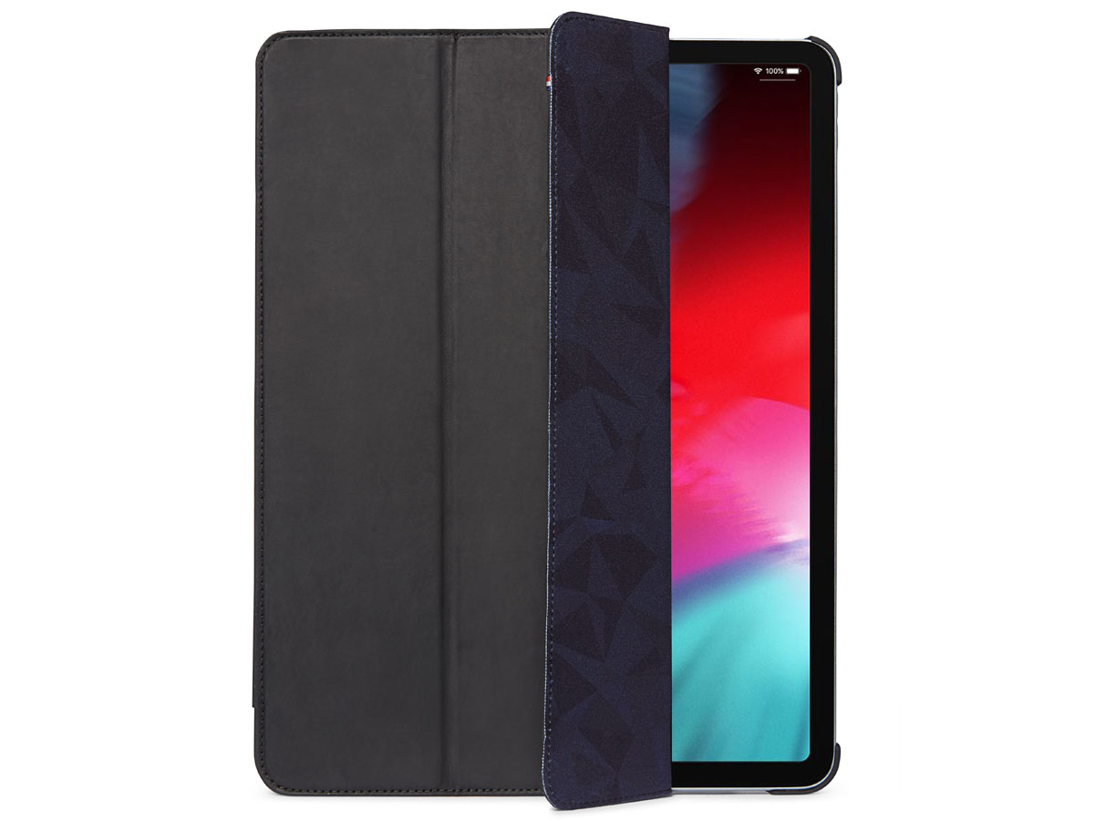Decoded Slim Cover Zwart Leer - iPad Pro 12.9 2018 hoesje