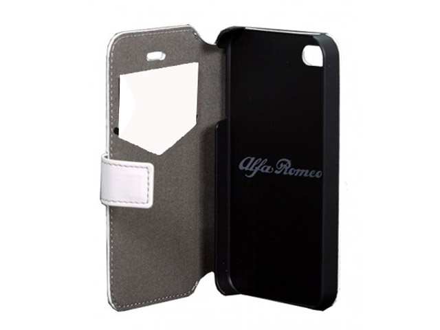Alfa Romeo Book Case - Hoesje voor iPhone 4/4S