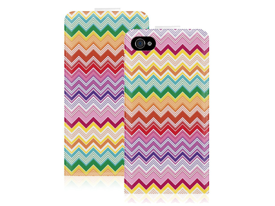 Call Candy Chevron Flip Case - Hoesje voor iPhone 4/4S